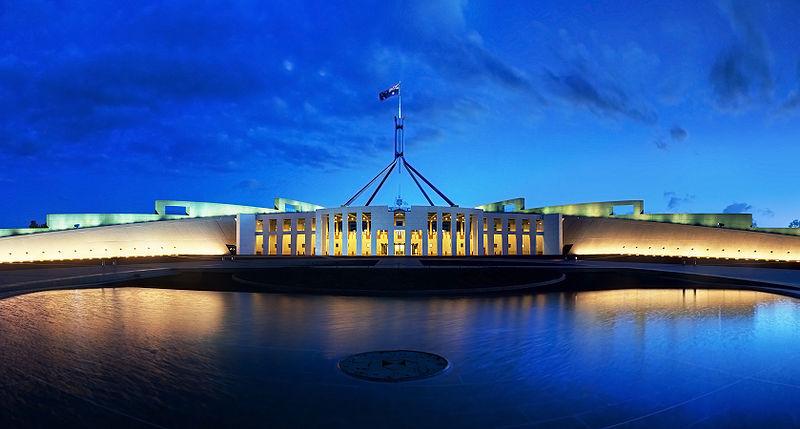 Avustralya parlamentosu nun toplandığı yapıdır avustralya nın